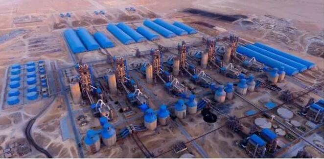 埃及GOE Beni Suef 6×6000TPD水泥生产线项目全景